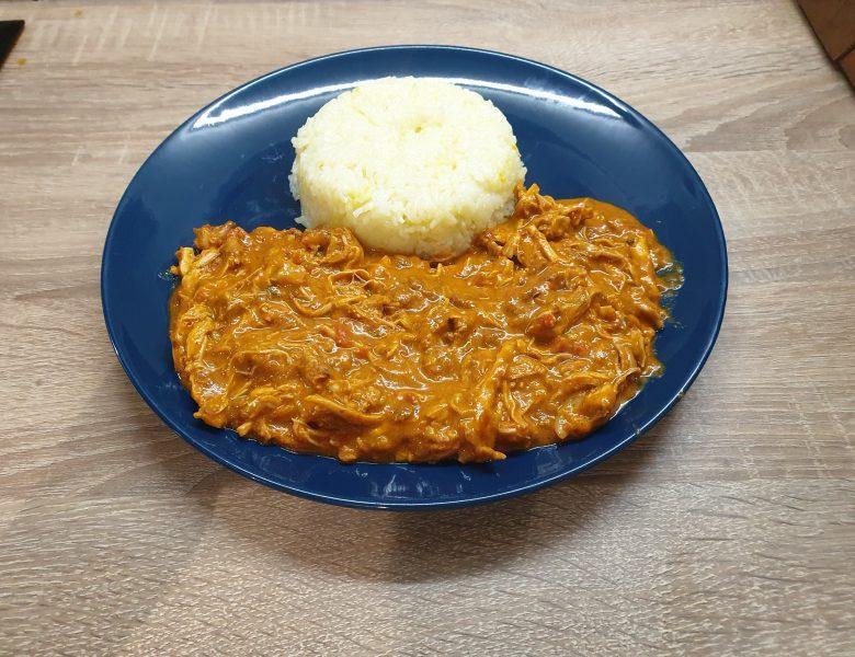 Curry de pui tikka masala